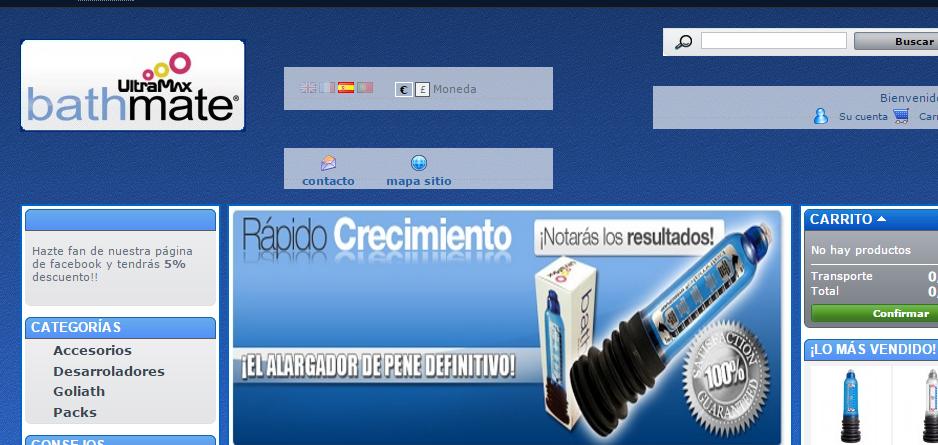 http://www.Bathmates.es/es/  : Fraude!!
