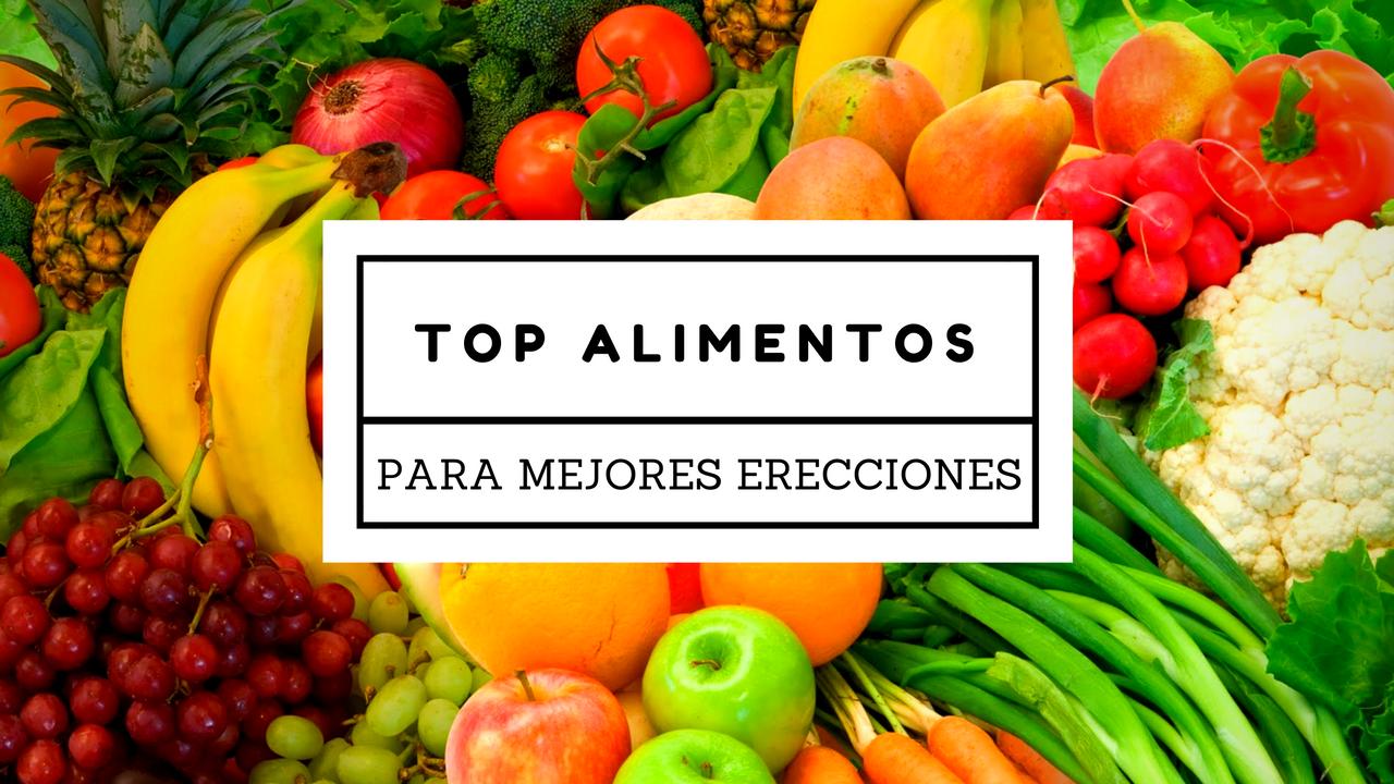 Top 9 Alimentos Para Una Ereccion Más Duradera, Fuerte y Firme (Respaldados Por Estudios)