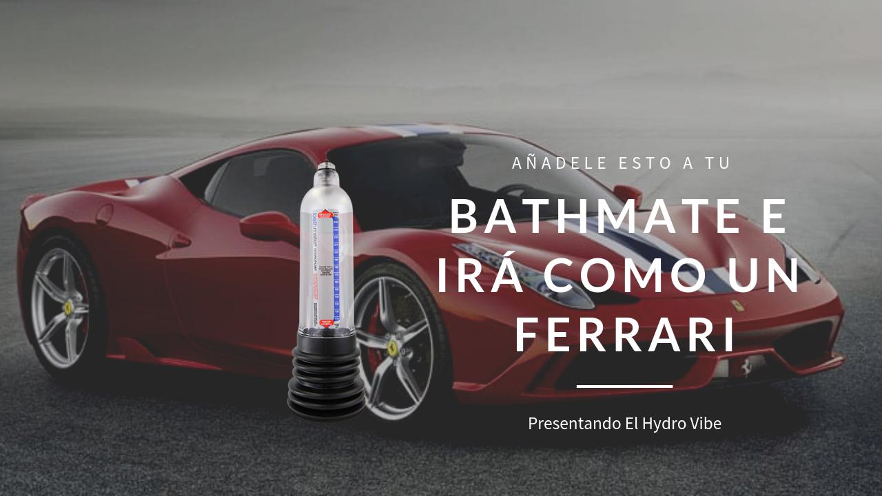 El HydroVibe Es Óxido Nítrico Para El Bathmate