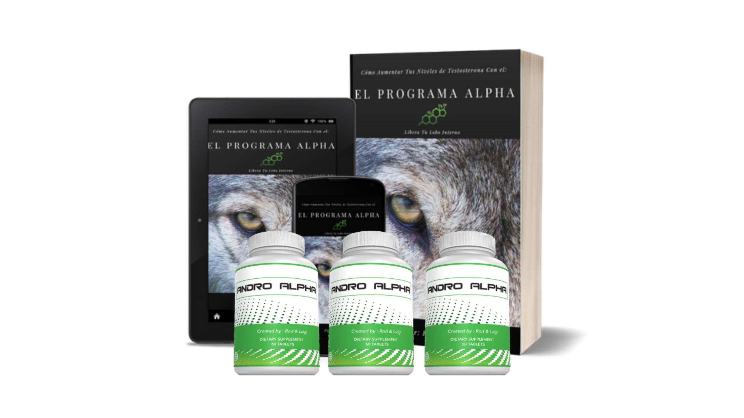 Andro Alpha : El Nuevo Suplemento Para Aumentar Los Niveles de Testosterona